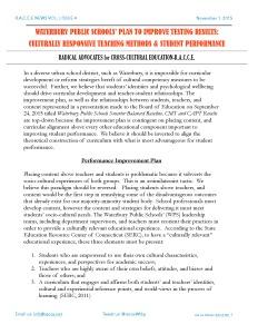 WaterburyPublicSchools'PlantoimprovetestingResults_Page_1
